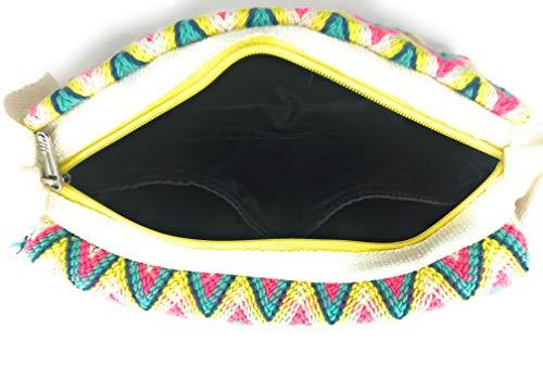 COLOMBIAN STYLE Wayuu Rucksack, handgemachte kolumbianische Handtaschen, sowohl für Frauen und Männer.