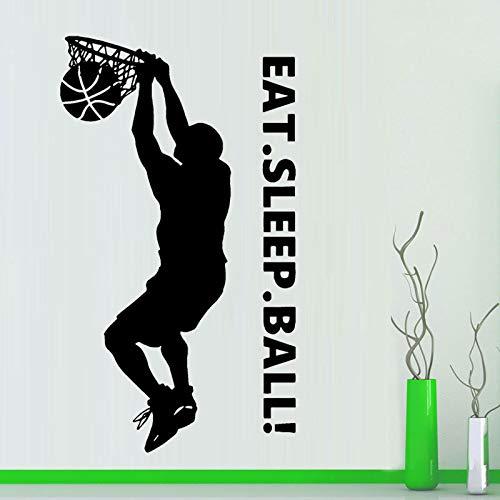 lyclff Baloncesto Dunk Vinilo Etiqueta de La Pared Sticker Art ...