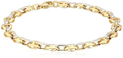 gold bracelet italian mens - 5