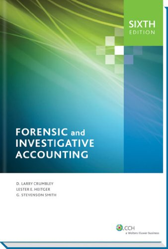 Forensic and Investigative Accounting  6th Edition