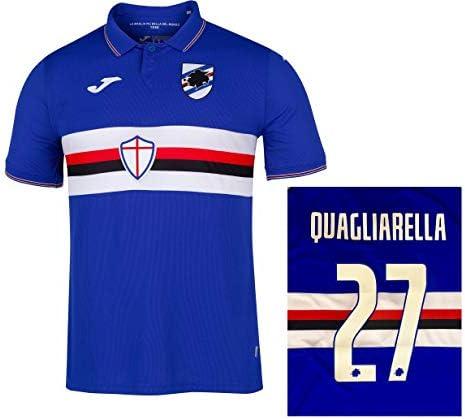 Soccer Jersey Sampdoria Camiseta Quagliarella Autentica Gara Home ...