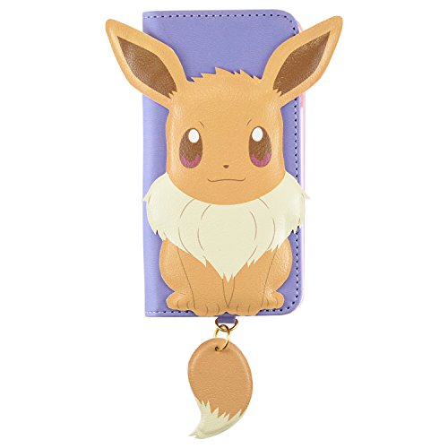 Pokemon Pocket Monsters Flip Case with Tail Key Charm for iPhone 6s/6 Pokemon Pocket Monsters Flip Case with Tail Key Charm for iPhone 6s/6 (Eevee)