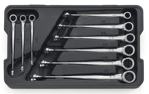 Non-Ratcheting X-Beam SAE Set - - Wrench Non X-beam Ratcheting Combination
