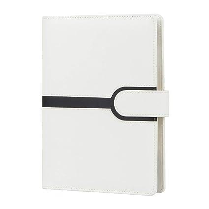 cyos A5 con cuaderno, color blanco y negro, y Block diario ...
