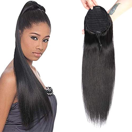 RACILY Straight Drawstring Brazilian Extensions product image