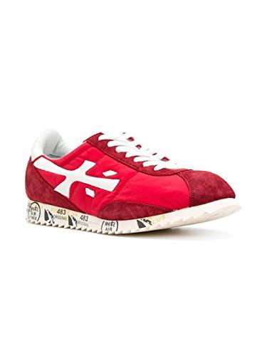 PREMIATA Sneakers Uomo HATTORI2914 Pelle Rosso