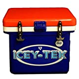 ICEY-TEK 25 Qt Cube Box Cooler (Red, White, Blue)
