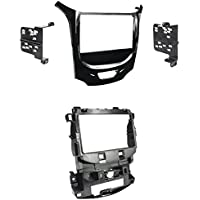 Metra 95-3020HG Double DIN Dash Kit For 2016-Up Chevrolet Cruze - High Gloss Black