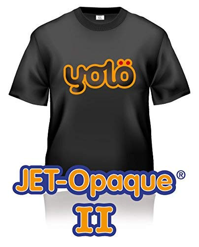 50 x A4 Sheets of Jet-Opaque® II Inkjet Heat Transfer Paper / T-Shirt Transfers Neenah