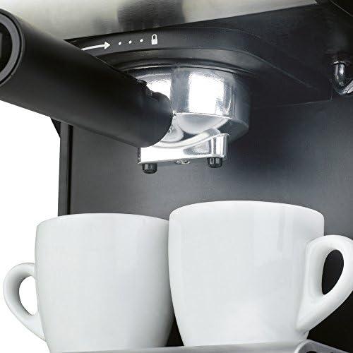 Ufesa Cafetera expreso Duetto Creme CE7141, 500 W, Acero ...