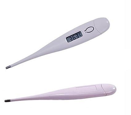 Termómetro médico Digital LCD de la boca de las axilas ambicionar bebé la temperatura del cuerpo