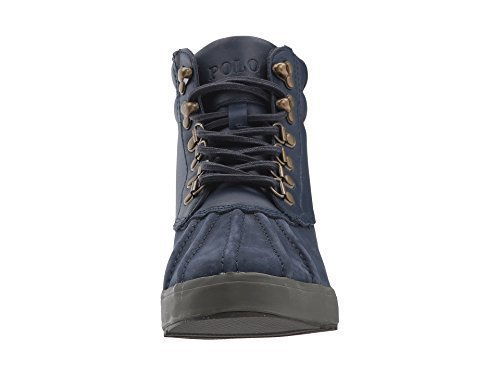 Polo Ralph Lauren Men's Regnald Fashion Boot, Navy, 13 D - Lauren Men Boots Polo Ralph