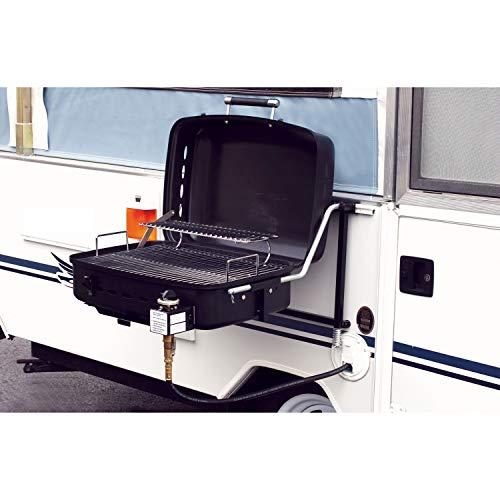 Fleming Sales Black Co RVAD-400 Sidekick Gas BBQ Grill Kit