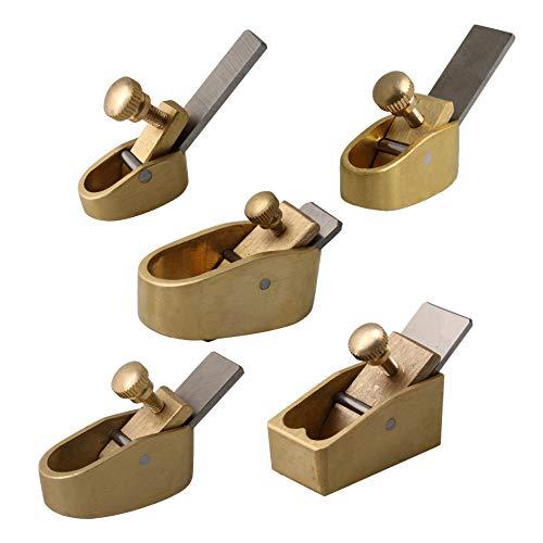 Mxfans5PCS 1-5 Model Brass Violin Makers Plane Hand Planer Making Repair Tool