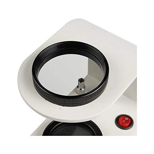 Jewelry Tabletop Polariscope Desktop Magnifier Gem Identification Tools with Gem Clip