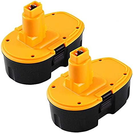 2X para Dewalt 18v Baterias 3.0Ah NIMH de herramienta eléctrica Repuesto Batería DC9096 DE9039 DE9095 DE9096 DE9503 DW9095 DW9096 DW9098 Reoben