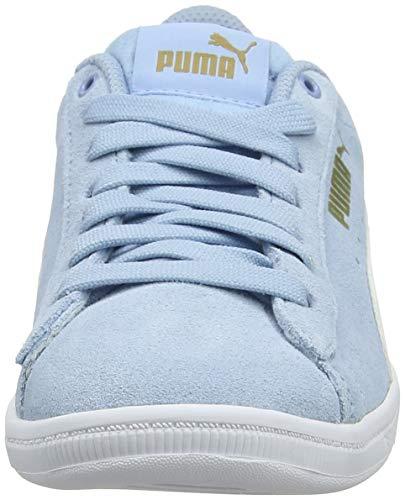 Bleu metallic Gold Vikky White Puma Basses 02 Jr Sneakers puma Fille cerulean ZOXaq