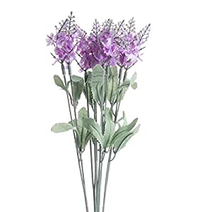 Factory Direct Craft Group of 4 Orchid Purple Artificial Wildflower Bush Sprays for Home Decor, Crafting and Displaying 105