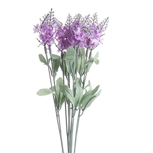Factory-Direct-Craft-Group-of-4-Orchid-Purple-Artificial-Wildflower-Bush-Sprays-for-Home-Decor-Crafting-and-Displaying