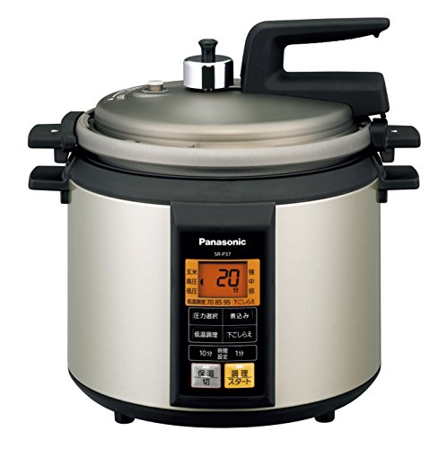 Panasonic microcomputer electric pressure cooker Noble champagne SR-P37-N by Panasonic