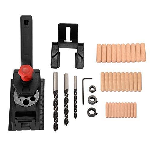 Bertong 38 Teile/Satz Holzbohrer Guide Tasche 10 Loch Jig for Holzbearbeitung 3mm-12mm BI1124 Home Gadget Home…
