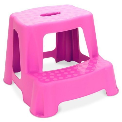 Childrenu0027s 2 Step Stool (Pink) by RSW  sc 1 st  Amazon UK & Childrenu0027s 2 Step Stool (Pink) by RSW: Amazon.co.uk: Kitchen u0026 Home islam-shia.org