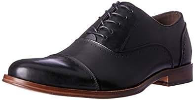Wild Rhino Men's Ethan Shoes, Black, 7 AU (41 EU)