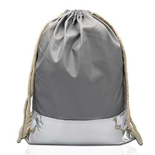 Glamexx24 Turnbeutel Rucksack Gymbag Gym Bag Jutebeutel Sportbeutel beuteltasche in verschiedene Farbe/Design