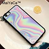 1 Piece MaiYaCa Luxury Holographic Style Phone Bag TPU Rubber Soft Covers