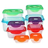 Assorted Side Latching Food Storage - 20pc - up & up153; Multi-Colored