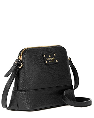 Leather Black Hanna New Bag Body Shoulder Bay Street Kate York amp; Spade Cross HwYxOTcaq