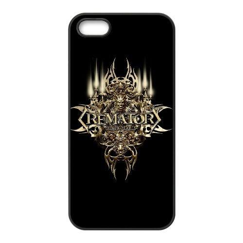 Gothic VC89UB7 coque iPhone 5 5s étui de téléphone cellulaire coque D1FN3V9KL