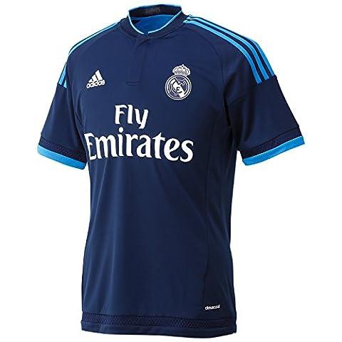 REAL MADRID 2015/2016 Men's Third Soccer Shirt, Indigo,