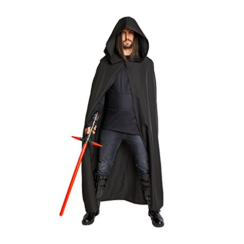 Men's Sith Cloak Costume Adult (Large/XL - 60 in. from neck to bottom) - Lord Sith Costume
