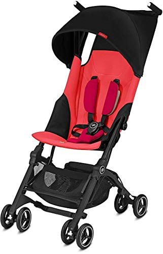 GB Pockit Plus Lightweight Stroller (Cherry Red)