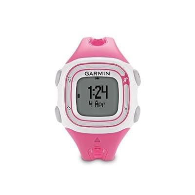 Garmin Forerunner 10 GPS Watch - Pink/White (Renewed)