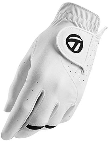 TaylorMade All Weather Gloves, White, Medium/Large, Left Hand