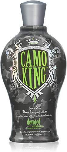 Devoted Creations CAMO KING Black Bronzing Lotion – 12.25 oz.