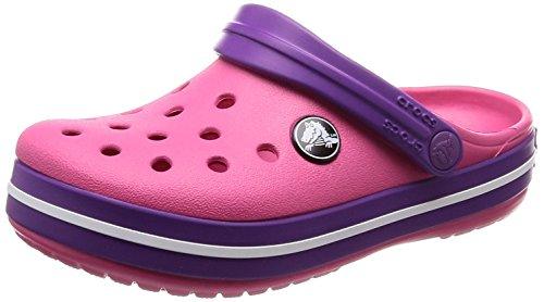 Toddler Shoe Brands - Crocs Kids' Crocband Clog, Paradise Pink/Amethyst, 6 M US Toddler