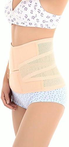 Healthcom Waist Slimming Belt Shaper Wrapper Band Abdomen Abdominal Binder Women Postnatal Pregnancy Belt-Support Postpartum Recoery Support Girdle Belt Belly,Size:S 5