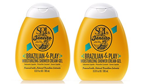 Sol de Janeiro Brazilian 4 Play Moisturizing Shower Cream-Gel 2 pack