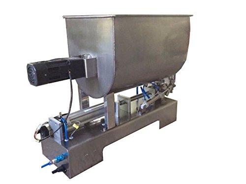 10-600ml Single head Paste Liquid Filling Machine Mixing Machine For Chilli Sauce Condiment G1WGDB-600 by CAPSULCN
