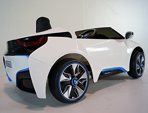 Bmw New I8 Kids Ride On Car Powered Wheels Battery With Remote