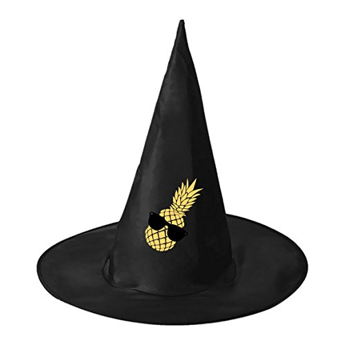 Sexy Taco Costumes (Halloween hat cool pineapple Family Black Witch Costume Headwear for)