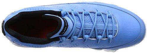 Nike Air Jordan 9 Retro Low, Scarpe da Basket Uomo Blu (Azul (Unvrsty Bl / Unvrsty Bl-white-bl))