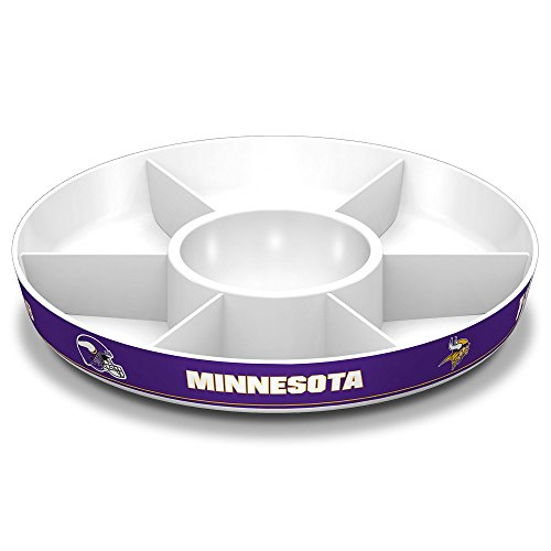 Fremont Die NFL Minnesota Vikings Party Platter ()