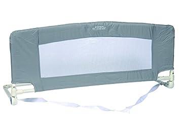 babysun barrire de lit pliable avec sac de transport grise - Lit Pliable