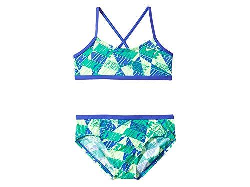 Nike Kids Girl's Graphic Crossback Bikini (Big Kids) Paramount Blue -