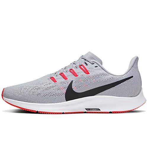 Nike Air Zoom Pegasus 36, Zapatillas de Atletismo para Hombre, Multicolor (GunsmokeOil GreyWhiteGum Light Brown 1), 42 EU