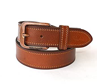 Being Human Tan Leather Belt For Men